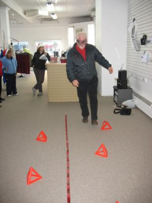 Windsor Christmas Shopping Party – Impaired vision simulator