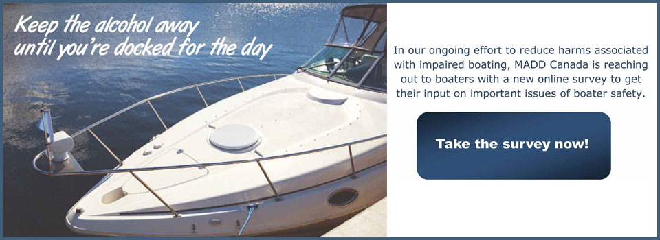 Boating survey slider