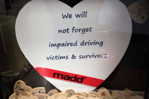 We Will Not Forget Impaired Driving Victims And Survivors