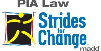 Strides for Change, sponsored by P I A Law