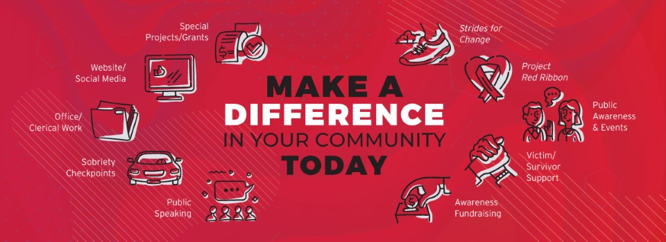 Make A Difference In Your Community Today.
