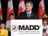 MADD Canada Prime Minister Harper