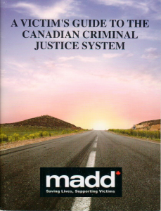 MADD Criminal Guide