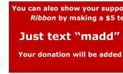 Text to donate to MADD Canada
